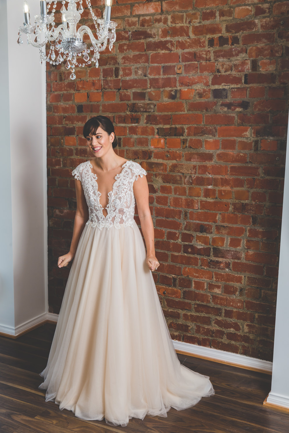 Made With Love Carrie from Bluebelle Bridal | Wellington Wedding Dress