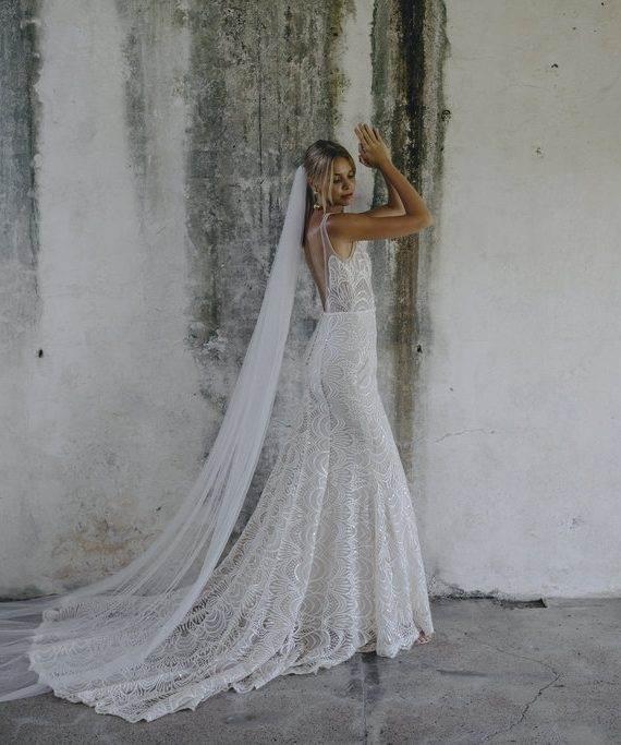 Modern Romantic Rustic Boho Wedding Dresses
